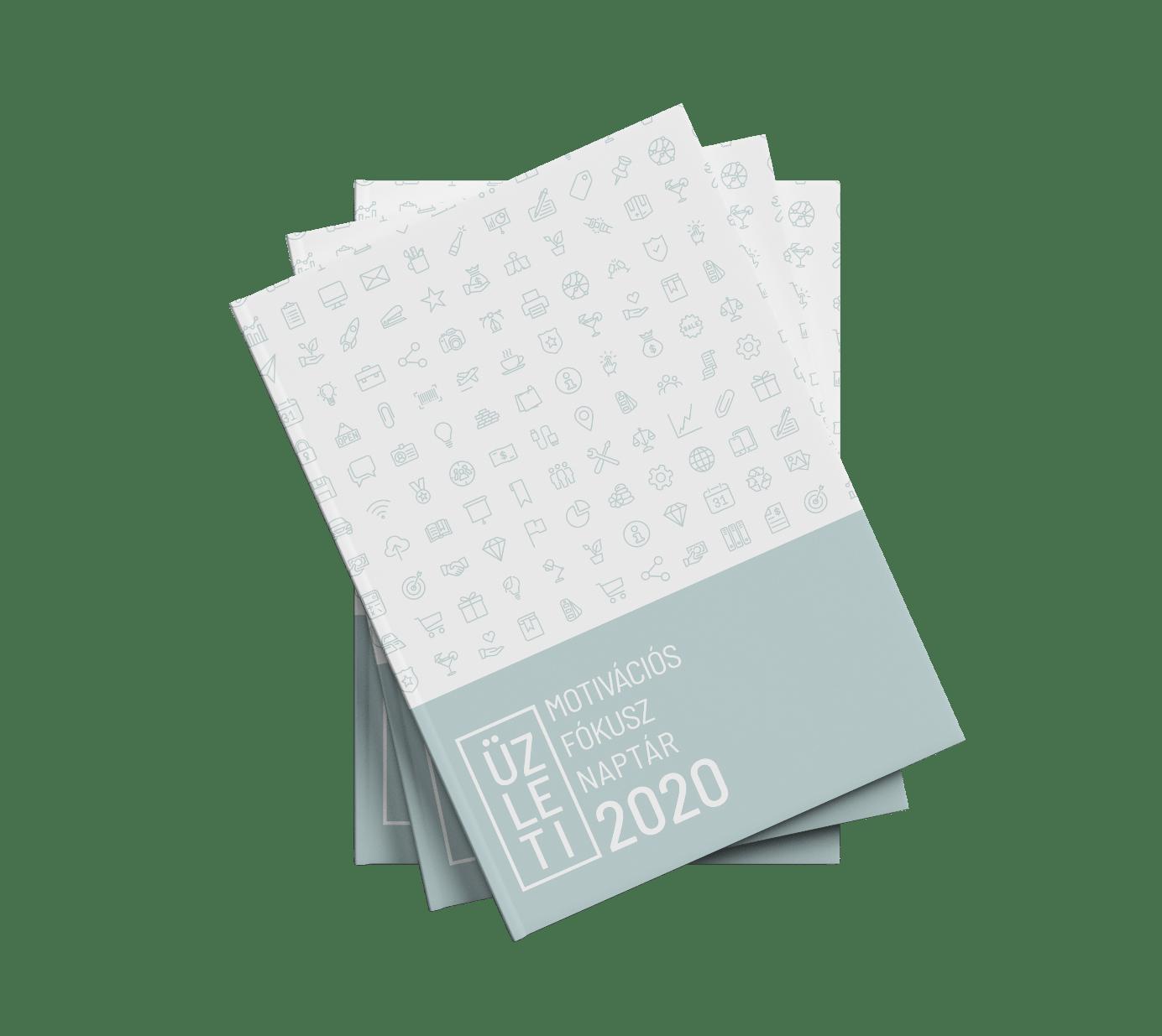 Üzleti Motivációs Fókusz Naptár 2020