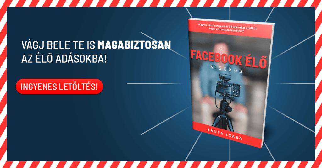 Facebook Élő Kisokos ebook