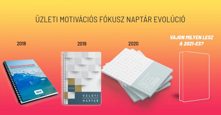 Milyen lesz a 2021-es üzleti motivációs fókusz naptár?