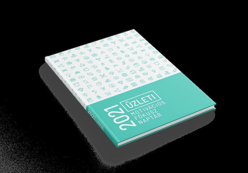 Év tervezés - Üzleti motivációs fókusz naptár